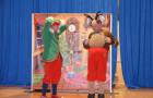 Obiskala sta nas Miškino gledališče in dedek Mraz